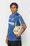 Damian Suarez poses during official La Liga 2015-16 photo session in Madrid, Spain. July 24, 2015. (ALTERPHOTOS/Victor Blanco)