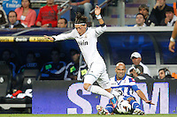 ATENCAO EDITOR IMAGENS EMBAGADAS PARA VEICULOS INTERNACIONAIS - <br /> MADRI, ESPANHA, 30 SETEMBRO 2012 - CAMP. ESPANHOL - REAL MADRID X DEPORTIVO LA CORUNA - Ozil jogador do Real Madrid, durante lance de partida contra Deportivo La Coruna pela sexta rodada do Campeonato Espanhol no Estadio Santiago Bernabeu em Madri capital da Espanha, neste domingo, 30. (FOTO: ALFAQUI / BRAZIL PHOTO PRESS).