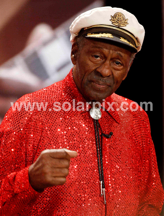 **ALL ROUND PICTURES FROM SOLARPIX.COM**.**SYNDICATION RIGHTS FOR UK AND SPAIN ONLY**.Celebs attending the 'Golden Camera'-Awards in Berlin, Germany. 6th February 2008..This pic: Chuck Berry..JOB REF:  5713  CPR        DATE: 06_02_2008.**MUST CREDIT SOLARPIX.COM OR DOUBLE FEE WILL BE CHARGED* *UNDER NO CIRCUMSTANCES IS THIS IMAGE TO BE REPRODUCED FOR ANY ONLINE EDITION WITHOUT PRIOR PERMISSION*