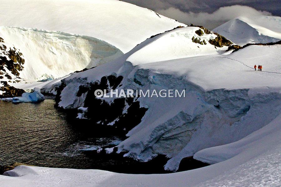 Geleira na Antartida. 2006. Foto de Caio Vilela.