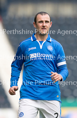 St Johnstone FC Season 2013-14<br /> Dave Mackay<br /> Picture by Graeme Hart.<br /> Copyright Perthshire Picture Agency<br /> Tel: 01738 623350  Mobile: 07990 594431