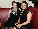 Keighlea Rooney and Shireen Everitt pictured at Shane Everitt's birthday in Brú. Photo:Colin Bell/pressphotos.ie