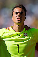 Goalkeeper Diego Benaglio of Switzerland