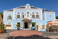 Willemstad, Curacao, Lesser Antilles.  A Building, Rubens Lounge, in the Kura Hulanda Historic Area.