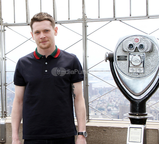05 09, 2016:  Jack O'Connell star of Money Monster visit the Empire State Building Observatory at the Empire State Building in New York. Credit:RW/MediaPunch