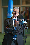 Press Encounter:  H.E. Mr. Mogens Lykketoft (Denmark) will address reporters at the East Foyer Stakeout area following his formal election as President of the 70th Session of the General Assembly