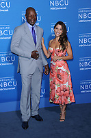 www.acepixs.com<br /> May 15, 2017  New York City<br /> <br /> Dennis Haysbert and Sarah Shahi attending the 2017 NBCUniversal Upfront at Radio City Music Hall on May 15, 2017 in New York City.<br /> <br /> Credit: Kristin Callahan/ACE Pictures<br /> <br /> <br /> Tel: 646 769 0430<br /> Email: info@acepixs.com