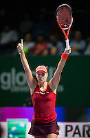 ANGELIQUE KERBER (GER)<br /> <br /> WTA FINALS, SINGAPORE INDOOR STADIUM, SINGAPORE SPORTS HUB, SINGAPORE, 2015