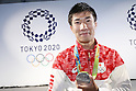 Yoshihide Kiryu (JPN), <br /> AUGUST 21, 2016 - : <br /> Japanese prime minister Shinzo Abe attended the exchange meeting with Japan National team member and <br /> their medalist<br /> at Japan House in Rio de Janeiro <br /> during the Rio 2016 Olympic Games in Rio de Janeiro, Brazil. <br /> (Photo by Yusuke Nakanishi/AFLO SPORT)