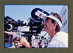 Ray Manzarek of the Doors directing LA Woman video in Venice, CA 1984