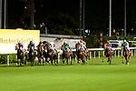 Jockeys riding their horses during the race 1 of Hong Kong Racing at Happy Valley Race Course on June 13, 2018 in Hong Kong, Hong Kong. Photo by Marcio Rodrigo Machado / Power Sport Images