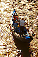 Gondola From Academia Bridge - Venice Italy