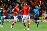 during the Sky Bet Championship match between Charlton Athletic and Swansea City at The Valley, London, England, UK. Wednesday 02 October 2019