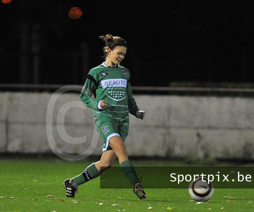 Club Brugge Vrouwen - OHL Dames : Lien Haverals<br /> foto David Catry / nikonpro.be