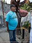 Victor, eloquent spokesman for the Muraleando Community Arts project