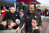 The victorious Counties Manukau Steelers share the Ranfurly Shield with their fans and supporters in 3 parades through Manukau City, Papakura and Pukekohe on September 9th 2013.