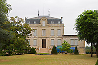 Chateau Taillefer and garden Pomerol Bordeaux Gironde Aquitaine France