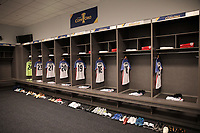 Arlington, TX - Saturday July 22, 2017: The USMNT locker room during a 2017 Gold Cup Semifinal match between the men's national teams of the United States (USA) and Costa Rica (CRC) at AT&T stadium.