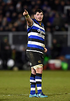 James Phillips of Bath Rugby. Aviva Premiership match, between Bath Rugby and Northampton Saints on February 9, 2018 at the Recreation Ground in Bath, England. Photo by: Patrick Khachfe / Onside Images
