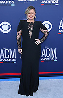 07 April 2019 - Las Vegas, NV - Kelly Clarkson. 54th Annual ACM Awards Arrivals at MGM Grand Garden Arena. Photo Credit: MJT/AdMedia<br /> CAP/ADM/MJT<br /> &copy; MJT/ADM/Capital Pictures