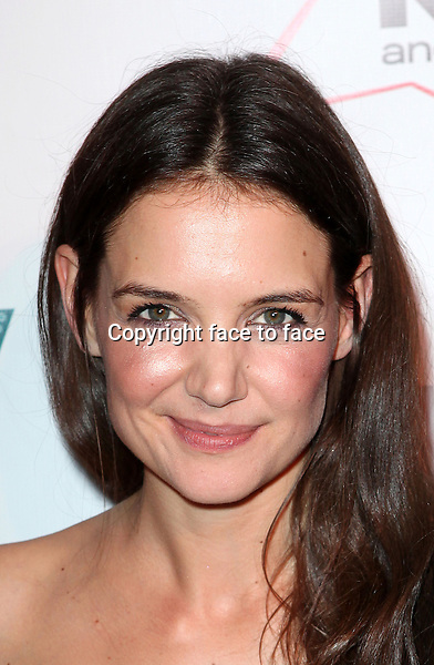 """Katie Holmes attending the Broadway Dreams Foundation's """"Champagne & Caroling Gala"""" at Celsius at Bryant Park, New York, 10.12.2012...Credit: McBride/face to face"""