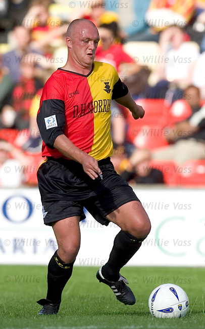 Steve Fulton, Partick Thistle.stock season 2004-2005.pic willie vass