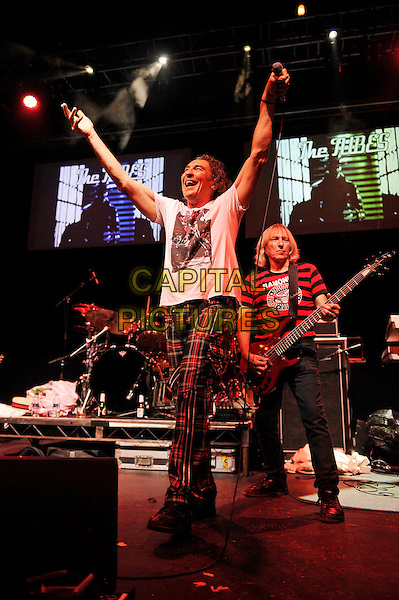 LONDON, ENGLAND - AUGUST 7: Fee Waybill and Rick Andersonof 'The Tubes' performing at Clapham Grand on August 7, 2015 in London, England.<br /> CAP/MAR<br /> &copy; Martin Harris/Capital Pictures