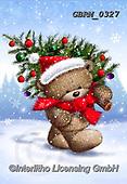 Roger, CHRISTMAS ANIMALS, WEIHNACHTEN TIERE, NAVIDAD ANIMALES, paintings+++++,GBRM0327,#XA#
