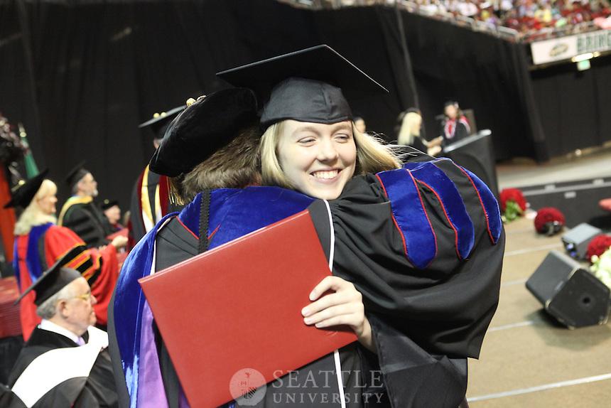 06132010- Graduation, undergraduate, Seattle University,