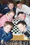 Games: Competing in the Community Games Draughts Competition in St. Michaels College Listowel on Sunday were Tralee team Jack McCarthy, Jack Murray, Patrize Brosnan, Donal OConnell, Marcus Prendiville and James OConnor..