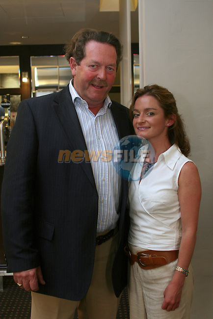 Ciaran Flynn and Catriona Henry at the Drogheda Chamber of Commerce Summer Event in the D Hotel...Photo NEWSFILE/Jenny Matthews.(Photo credit should read Jenny Matthews/NEWSFILE)....This Picture has been sent you under the condtions enclosed by:.Newsfile Ltd..The Studio,.Millmount Abbey,.Drogheda,.Co Meath..Ireland..Tel: +353(0)41-9871240.Fax: +353(0)41-9871260.GSM: +353(0)86-2500958.email: pictures@newsfile.ie.www.newsfile.ie.FTP: 193.120.102.198.