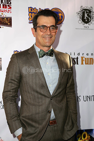LOS ANGELES, CA - NOVEMBER 7: Ty Burrell at the Kids In The Spotlight's Movies By Kids, For Kids Film Awards at Fox Studios in Los Angeles, California on November 7, 2015. Credit: David Edwards/MediaPunch