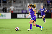 Orlando, FL - Saturday July 07, 2018: Dani Weatherholt during the second half of a regular season National Women's Soccer League (NWSL) match between the Orlando Pride and the Washington Spirit at Orlando City Stadium. Orlando defeated Washington 2-1.