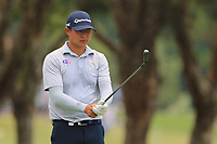 Yuan Carl Yechun (CHN) on the 3rd fairway during Round 4 of the Australian PGA Championship at  RACV Royal Pines Resort, Gold Coast, Queensland, Australia. 22/12/2019.<br /> Picture Thos Caffrey / Golffile.ie<br /> <br /> All photo usage must carry mandatory copyright credit (© Golffile   Thos Caffrey)