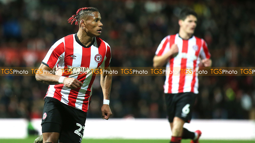 Julian Jeanvier of Brentford during Brentford vs Leeds United, Sky Bet EFL Championship Football at Griffin Park on 11th February 2020