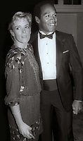 OJ Simpson Nicole Simpson circa 1980's<br /> Photo By Jesse Nash/PHOTOlink