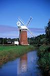 AMHKA5 Horsey mill windmill Norfolk England