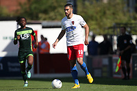 Joan Luque of Dagenham and Redbridge during Dagenham & Redbridge vs Hartlepool United, Vanarama National League Football at the Chigwell Construction Stadium on 14th September 2019
