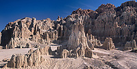 910000005 a panoramic view of the panacaa sandstone formations in cathedral gorge state park nevada united states