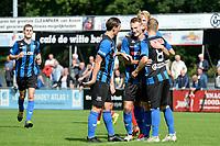 ASSEN - Voetbal, ACV - Harkemase Boys, Derde Divisie, seizoen 2017-2018, 09-09-2017,  ACV viert de 1-0