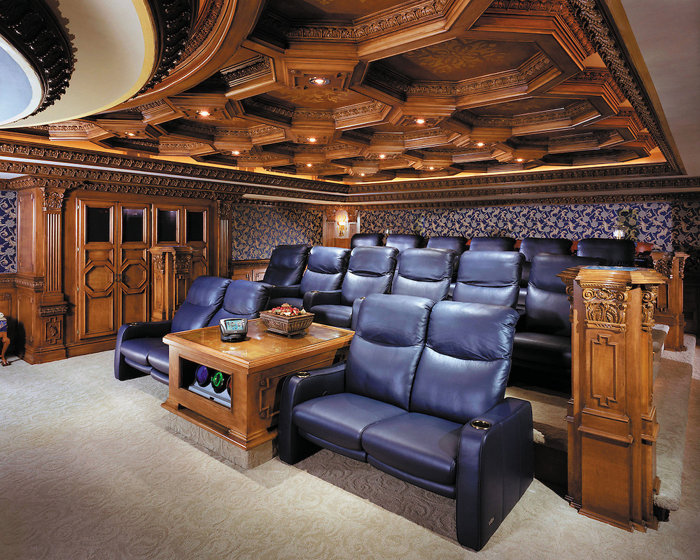 Master Woodwork Cutting Edge Theater Design