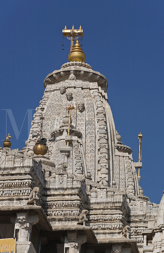 JAGADISH TEMPLE was built in 1651 by Maharaja Jagat Singh in honor of Vishnu as Jagannath - UDAIPUR, RAJASTHAN, INDIA