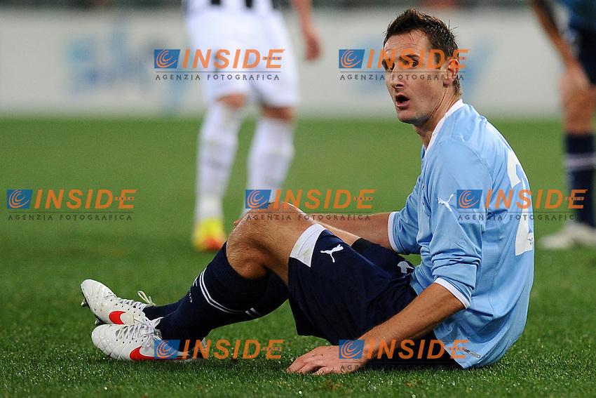Miroslav Klose (Lazio).Roma, 18/12/2011 Stadio Olimpico.Football Calcio 2011/2012 .Lazio vs Udinese 2-2.Campionato di calcio Serie A.Foto Insidefoto Antonietta Baldassarre