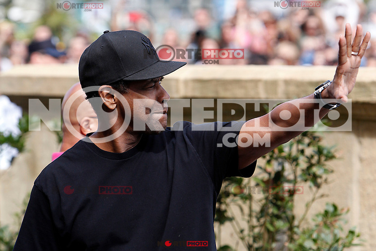 US actor Denzel Whasington arrives to Maria Cristina Hotel during the 62st San Sebastian Film Festival in San Sebastian, Spain. September 19, 2014. (ALTERPHOTOS/Caro Marin) /NortePhoto.com