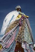 Europe/France/Provence-Alpes-Côte d'Azur/13/Bouches-du-Rhône/Camargue/Les Saintes-Maries-de-la-Mer : Fête des gitans - La vierge noire Sainte-Sarah patronne des gitans