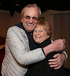 Danny Aiello and Kathleen K. Johnson during the Off-Broadway Opening Night of 'Fiercely Independent' at the Soho Playhouse on March 6, 2019 in New York City.
