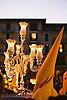 Hooded penitent in Holy Week street procession in Palma de Mallorca<br /> <br /> Penitente con capucha en una procesi&oacute;n de la Semana Santa en Palma de Mallorca<br /> <br /> B&uuml;&szlig;er mit Kapuze bei einer Karwochen-Prozession in Palma de Mallorca<br /> <br /> 1840 x 1232 px<br /> 150 dpi: 31,16 x 20,86 cm<br /> 300 dpi: 15,58 x 10,43 cm<br /> Original: 35 mm