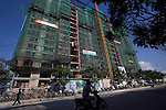 Saigon Riverside building project on Nguyen Van Huong Street in District 2 in Ho Chi Minh City...Photo taken Wednesday, November 11, 2009. Kevin German / Luceo Images