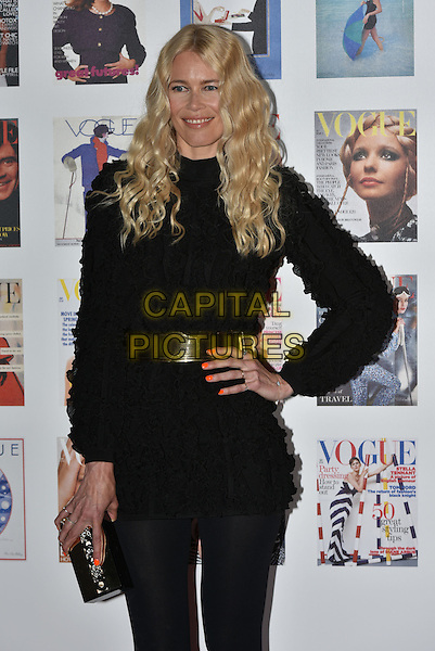 Claudia Schiffer at the Vogue100 anniversary gala dinner, British Vogue's centenary anniversary party, The East Albert Lawn in Kensington Gardens, Hyde Park, London, England, UK, on Monday 23 May 2016.<br /> CAP/PL<br /> &copy;PL/Capital Pictures