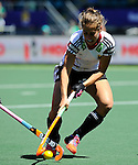 The Hague, Netherlands, June 13: Marie Maevers #23 of Germany in action during the field hockey placement match (Women - Place 7th/8th) between Korea and Germany on June 13, 2014 during the World Cup 2014 at Kyocera Stadium in The Hague, Netherlands. Final score 4-2 (2-0)  (Photo by Dirk Markgraf / www.265-images.com) *** Local caption ***